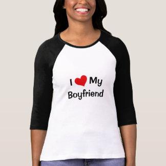 I Liebe mein Freund-DamenRaglan Hemd