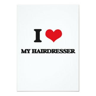 I Liebe mein Friseur 12,7 X 17,8 Cm Einladungskarte