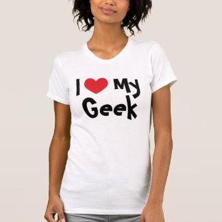I Liebe mein Geek-T - Shirt