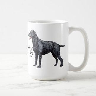 I Liebe mein Gelockt-Überzogener Retriever Kaffeetassen