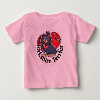 I Liebe mein glücklicher entzückender lustiger u. Baby T-shirt