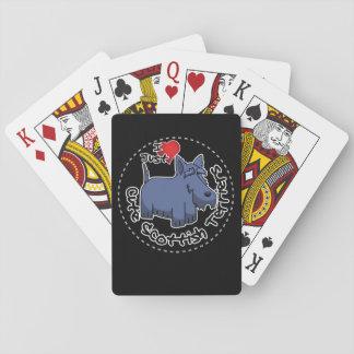 I Liebe mein glücklicher lustiger u. niedlicher Spielkarten