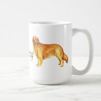 I Liebe mein goldener Retriever Kaffeetasse