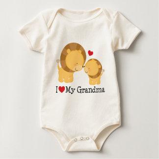 I Liebe mein Großmutter-Geschenk Baby Strampler