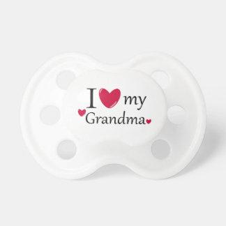 I Liebe mein Großmutter-Schnuller Baby Schnuller