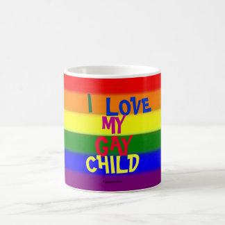 I Liebe mein homosexuelles Kind Kaffeetasse