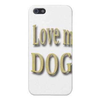 I Liebe mein Hund iPhone 5 Hüllen