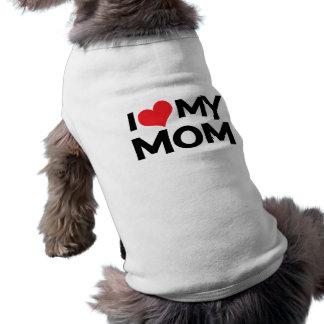 I Liebe mein Hunde-/-haustier-T - Shirt der