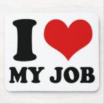 I LIEBE MEIN JOB - mousepad