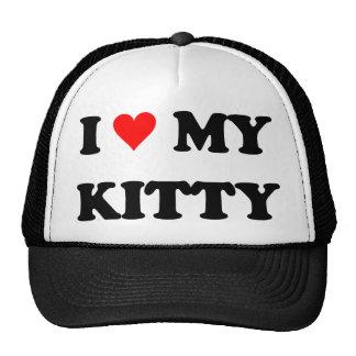 I Liebe mein Kitty Netzmütze