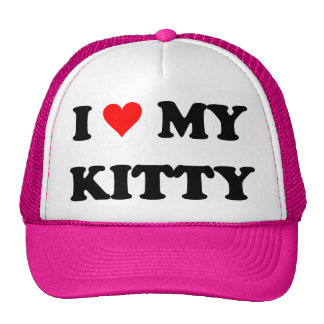 I Liebe mein Kitty Truckercap