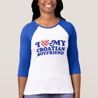 I Liebe mein kroatischer Freund T-Shirt