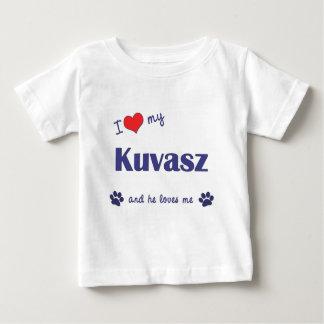 I Liebe mein Kuvasz (männlicher Hund) Baby T-shirt