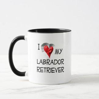 I Liebe mein Labrador-Retriever Tasse