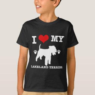 I Liebe mein Lakeland-Terrier T-Shirt