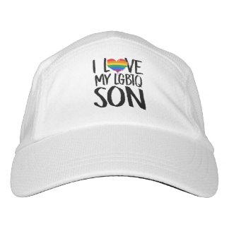 I Liebe mein LGBTQ Sohn Headsweats Kappe