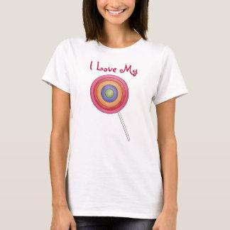 I Liebe mein Lutscher T-Shirt