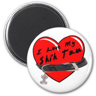 I Liebe mein Magnet Shih Tzu