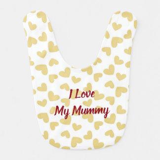 I Liebe mein Mama-Schellfisch Lätzchen