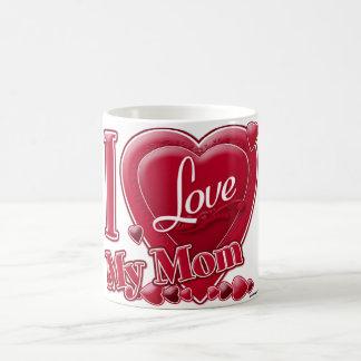I Liebe mein Mammarot - Herz Tasse
