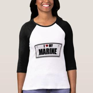 I Liebe mein Marinesoldat T-Shirt