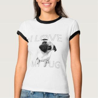 I Liebe mein Mops T-shirt