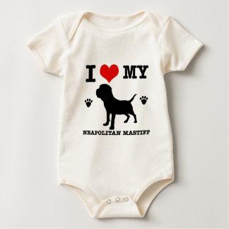 I Liebe mein neapolitanischer Mastiff Baby Strampler