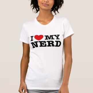 I Liebe mein Nerd T-Shirt