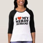 I Liebe mein Nerdy Ehemann Hemden