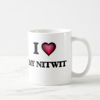 I Liebe mein Nitwit Kaffeetasse