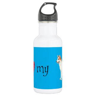I Liebe mein Norrbottenspets Edelstahlflasche