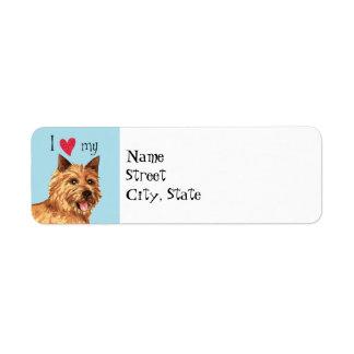 I Liebe mein Norwich-Terrier