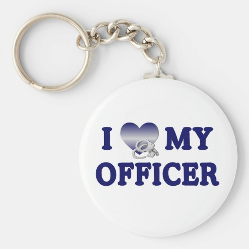 I Liebe mein Offizier Schlüsselband