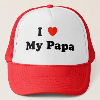 I Liebe mein Papa-Hut Truckerkappe