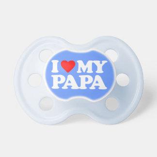I LIEBE MEIN PAPA BABY SCHNULLER