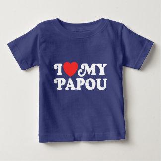 I Liebe mein Papou Baby T-shirt
