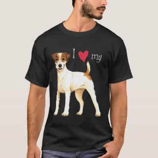 I Liebe mein Pastor-Russell-Terrier T-Shirt