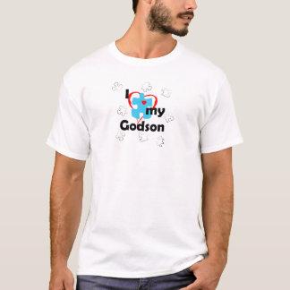 I Liebe mein Patensohn - Autismus T-Shirt