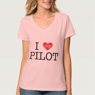 I Liebe mein Pilot Shirts