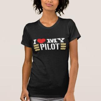 I Liebe mein Pilot T-Shirts
