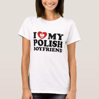 I Liebe mein polnischer Freund T-Shirt