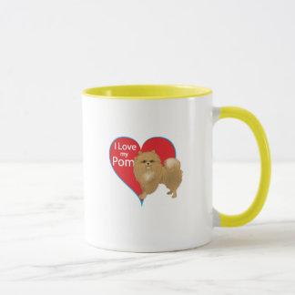 I Liebe mein Pom Tasse