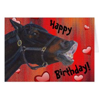 I Liebe mein Pony! Niedlicher Reiter Karte
