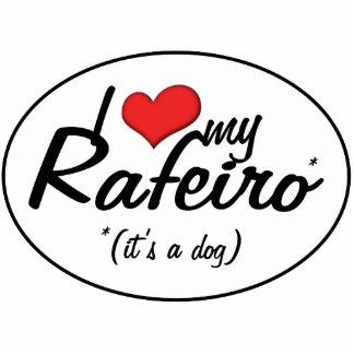 I Liebe mein Rafeiro (es ist ein Hund) Photofiguren