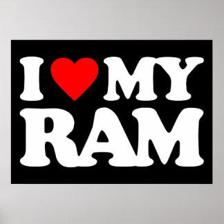 I LIEBE MEIN RAM POSTER