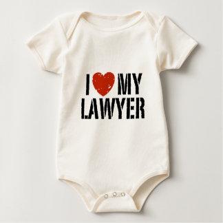I Liebe mein Rechtsanwalt Baby Strampler