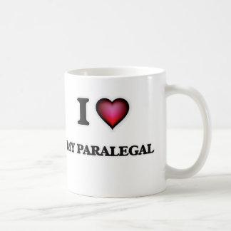 I Liebe mein Rechtsassistent Kaffeetasse