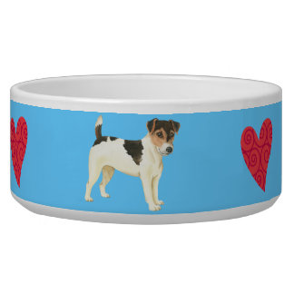 I Liebe mein Russell-Terrier Napf