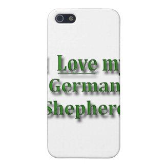 I Liebe mein Schäferhund iPhone 5 Case