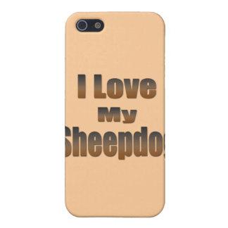 I Liebe mein Schäferhund iPhone 5 Schutzhüllen